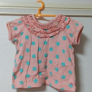 サンカンシオン(3can4on)の半袖 (女の子)80サイズ(Tシャツ)