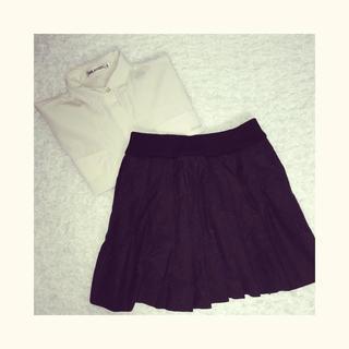 ナイスクラップ(NICE CLAUP)のプリーツスカート(ミニスカート)