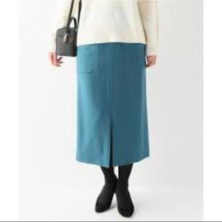 イエナスローブ(IENA SLOBE)の新品タグ付き タイトスカート(ひざ丈スカート)