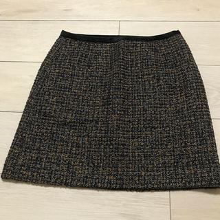 ビームス(BEAMS)のツイードスカート(ミニスカート)