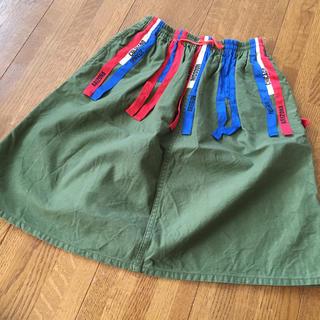 デニムダンガリー(DENIM DUNGAREE)のデニム&ダンガリー スカート120(スカート)
