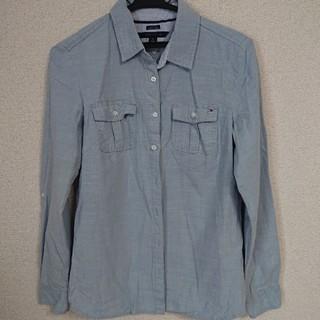 トミーヒルフィガー(TOMMY HILFIGER)のtommy hilfiger トミーヒルフィガー レディースシャツ(Tシャツ(長袖/七分))
