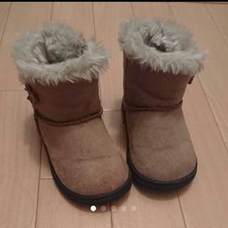 フタフタ(futafuta)のムートン  ブーツ  15cm(ブーツ)
