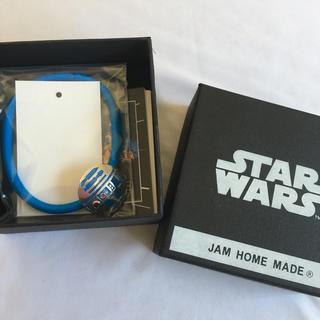ジャムホームメイドアンドレディメイド(JAM HOME MADE & ready made)のR2シリーズヘアゴムブレスレット💫青💫 STAR WARS(ブレスレット)