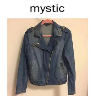 ミスティック(mystic)の★mystic デニムジャケット Gジャン 美品★(Gジャン/デニムジャケット)