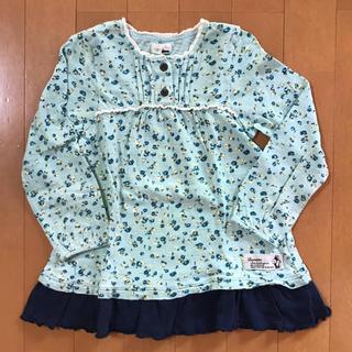 ビケット(Biquette)のビケット 長袖フリル 110(Tシャツ/カットソー)
