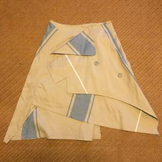 バーニーズニューヨーク(BARNEYS NEW YORK)のインポート デザインスカート(ひざ丈スカート)
