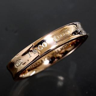 ティファニー(Tiffany & Co.)のティファニー TIFFANY&CO.1837 ルベド リング 14号 仕上済(リング(指輪))