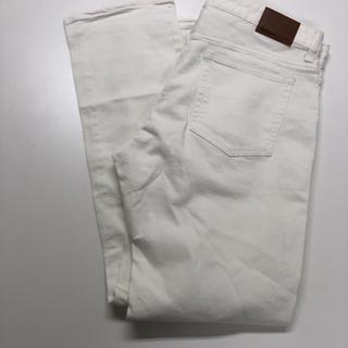 【新品】GAP1969 スリムストレッチ ホワイトデニム W85