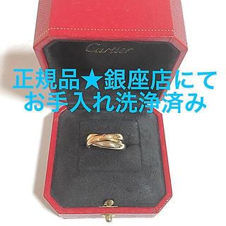 カルティエ(Cartier)のカルティエ トリニティ 50  10号 3連リング リング ピンクゴールド!(リング(指輪))