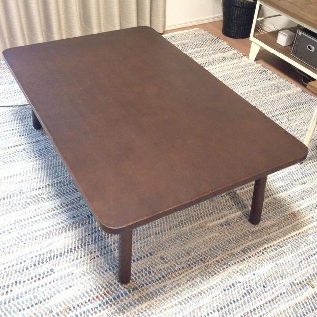 MUJI (無印良品)(ムジルシリョウヒン)の無印良品 こたつ インテリア/住まい/日用品の机/テーブル(こたつ)の商品写真