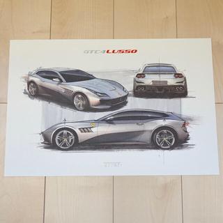フェラーリ(Ferrari)のFerrari GTC4 Lusso T(販促イラスト・ノベルティ)フェラーリ(カタログ/マニュアル)