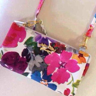 シマムラ(しまむら)の花柄 ポーチ 財布(財布)