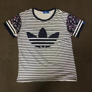 アディダス(adidas)のアディダスオリジナル Tシャツボーダー(Tシャツ(半袖/袖なし))