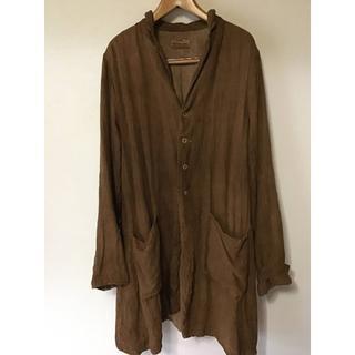 ポールハーデン(Paul Harnden)のKaval shrank coat シュランクコート 柿渋染(チェスターコート)