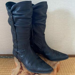 ツモリチサト(TSUMORI CHISATO)のtsumori chisato ツモリチサト ブーツ ブラック(ブーツ)