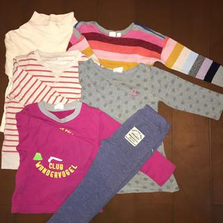 ギャップ(GAP)の幼児用長袖トレーナー等6点(Tシャツ/カットソー)