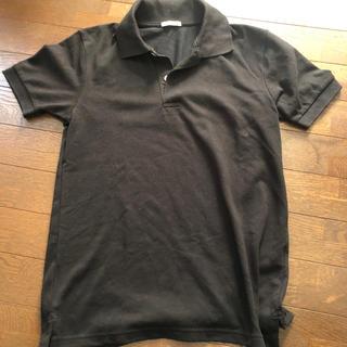 ジーユー(GU)のGU 黒ポロシャツ(ポロシャツ)