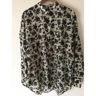 ポールハーデン(Paul Harnden)のSara Lanzi black flower shirts (シャツ)