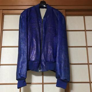 ジョンローレンスサリバン(JOHN LAWRENCE SULLIVAN)のvintage Genuine Python jacket(レザージャケット)