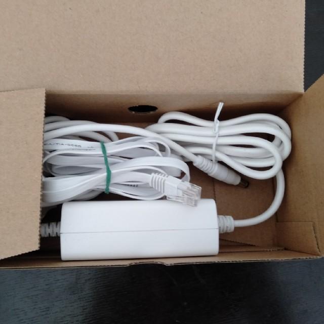 au(エーユー)のspeed Wi-Fi HOME01 ルーター スマホ/家電/カメラのPC/タブレット(PC周辺機器)の商品写真