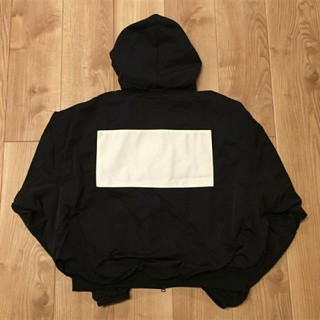 FEAR OF GOD - fear of  god hooded bomber jacket nike