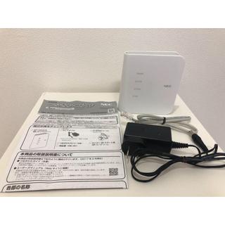エヌイーシー(NEC)の無線LAN Aterm PA-WF1200CR(PC周辺機器)
