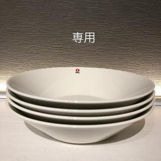 イッタラ(iittala)の専用 新品未使用 ★ ティーマ 21cm  ボウル ホワイト 4枚(食器)