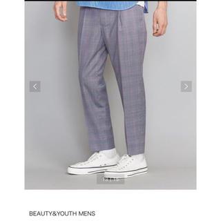 ユナイテッドアローズ(UNITED ARROWS)のbeauty&youth UA ユナイテッドアローズ  check pants(スラックス)