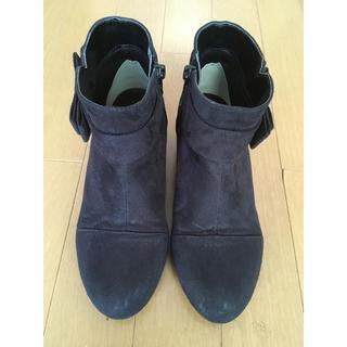 ムーンスター(MOONSTAR )のショートブーツ 22cm(ブーツ)