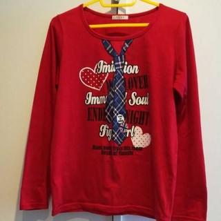 ハニーズ(HONEYS)のHoneys赤ロックロンT(Tシャツ(長袖/七分))