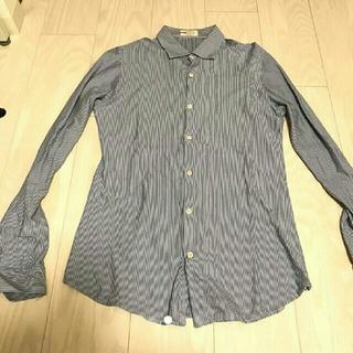 プラダ(PRADA)のPRADA ストライプシャツ(シャツ/ブラウス(長袖/七分))