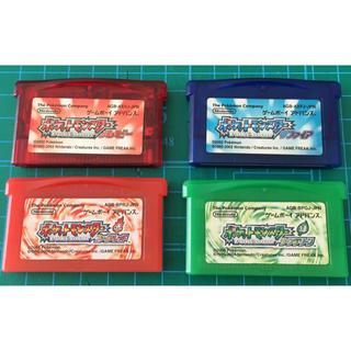 ゲームボーイアドバンス(ゲームボーイアドバンス)のゲームボーイアドバンス ポケモンソフト 4本(携帯用ゲームソフト)