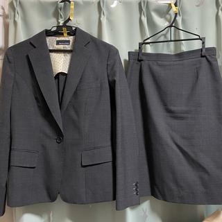 スーツカンパニー(THE SUIT COMPANY)のShe loves SUITS グレー スーツ(スーツ)