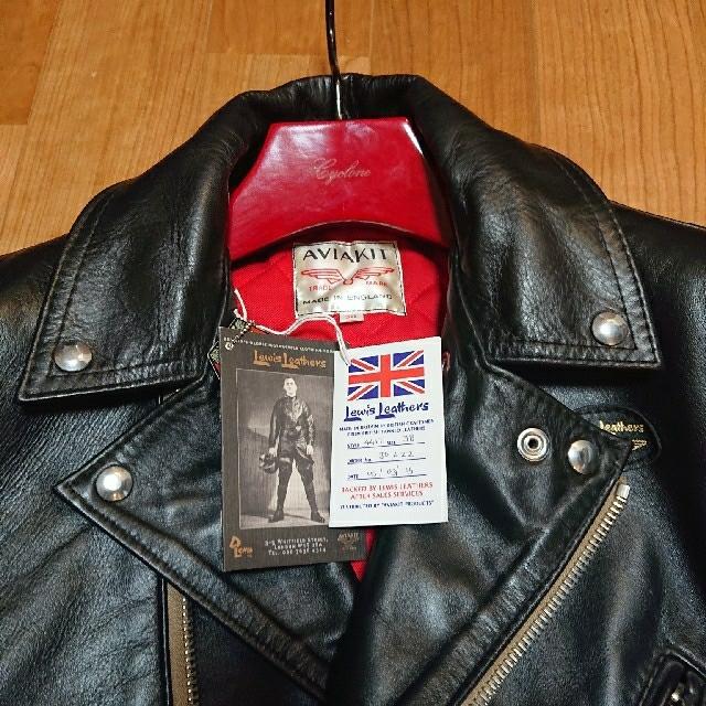 Lewis Leathers(ルイスレザー)のサイクロン Cyclone 441t タイトフィット ホースハイド  38 メンズのジャケット/アウター(ライダースジャケット)の商品写真
