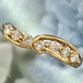 ダイヤ  リング☆ K18  指輪(リング(指輪))
