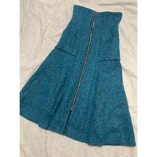 リルリリー(lilLilly)のリルリリー ハイウエストスカート(ひざ丈スカート)