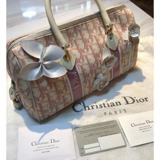 クリスチャンディオール(Christian Dior)のchristian Dior ミニボストンバック(ボストンバッグ)