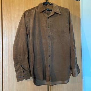 UNIQLO - ユニクロ コーデュロイシャツ ブラウン