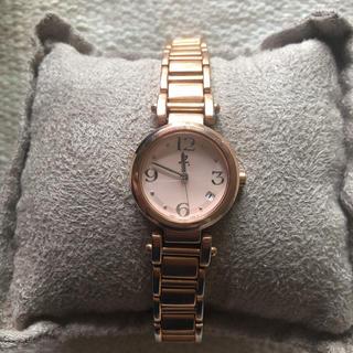 アニエスベー(agnes b.)のアニエスベー ピンクゴールド 日付(腕時計)