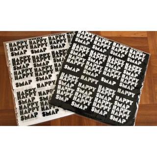 SMAP - SMAP SHOP HAPPY HAPPY SMAP ハンカチ 2種セット