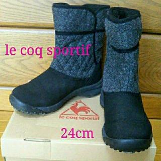 ルコックスポルティフ(le coq sportif)のle  coq sportif 暖かショートブーツ(ブーツ)