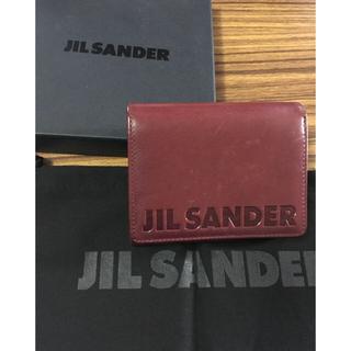 ジルサンダー(Jil Sander)のJIL SANDER   二つ折り財布(折り財布)