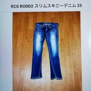 ロデオクラウンズ(RODEO CROWNS)のRODEO スリムスキニーデニム25(スキニーパンツ)