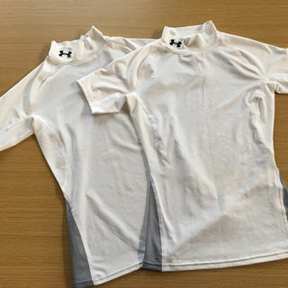 アンダーアーマー(UNDER ARMOUR)の美品アンダーアーマー 野球 インナーシャツ 140cm(ウェア)