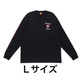 HUMAN MADE Girls Don't Cry  LONG-T GDC 黒(Tシャツ/カットソー(七分/長袖))