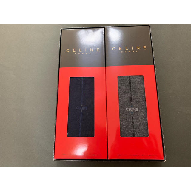 celine(セリーヌ)のメンズソックス 2足セット 25センチ メンズのレッグウェア(ソックス)の商品写真