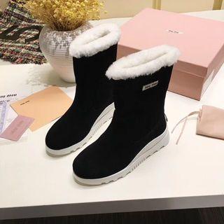 ミュウミュウ(miumiu)のミュウミュウ 靴(ローファー/革靴)