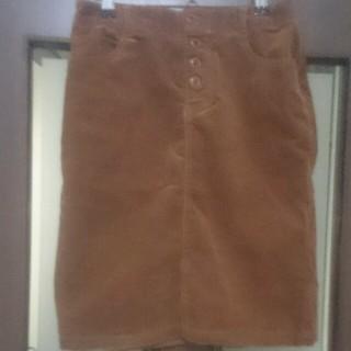 シマムラ(しまむら)のコーデュロイタイトスカート(ひざ丈スカート)