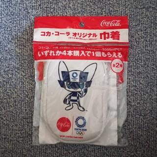 コカコーラ(コカ・コーラ)の2020年  東京オリンピック  キャラクター  ミライトワ(ノベルティグッズ)